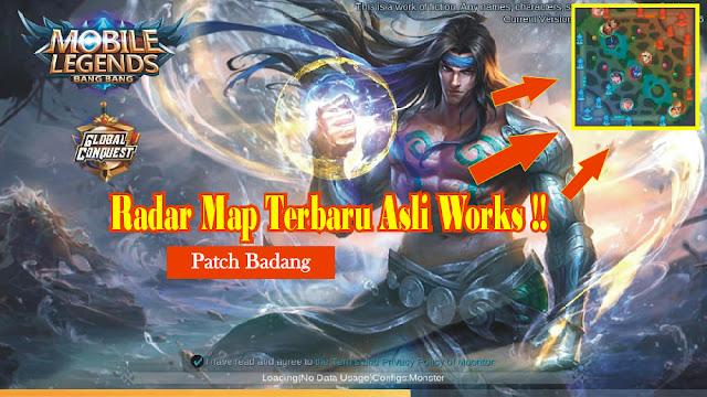 RADAR MAP HACK PATCH BADANG VERSI TERBARU