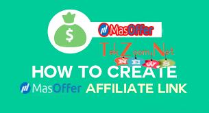 Hướng dẫn cách tạo link tiếp thị liên kết tự động khi tham gia kiếm tiền với Masoffer