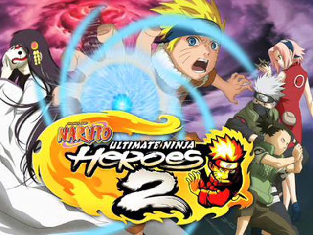 Naruto: Ultimate Ninja Heroes 2 - The Phantom Fortress cover 1
