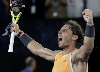 Nadal beats Tsitsipas for fifth Australian Open final