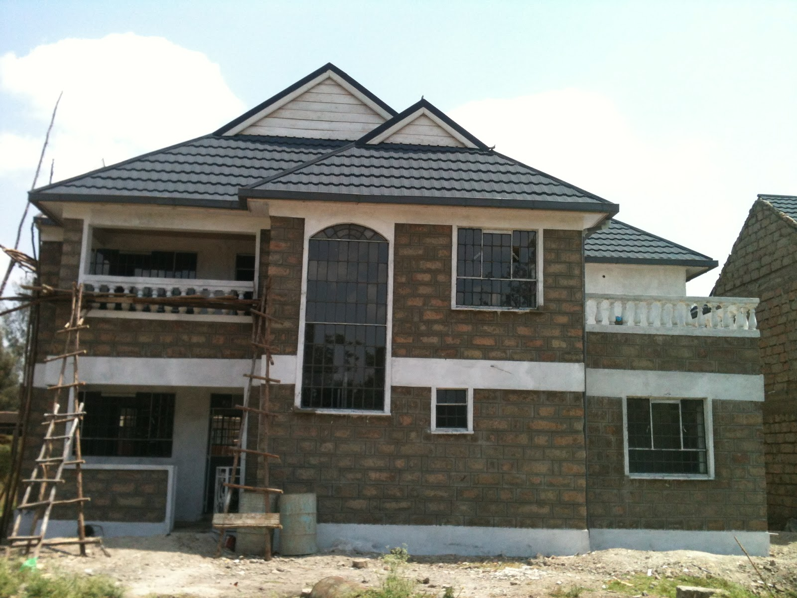 Daily post see what ruto did to chebukati s house in Two bedroom house plans in kenya