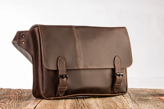 Win a Journeyman Leather Messenger Bag from Intrepid Bag Co Giveaway