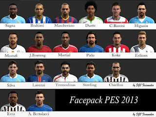 Big Facepack Vol.10 2016 Pes 2013 by SG8