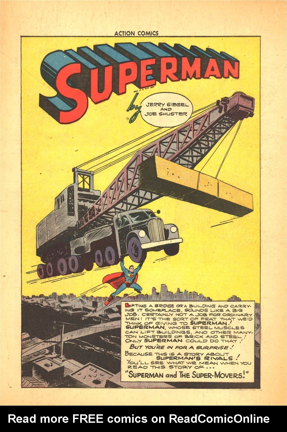 Read online Action Comics (1938) comic -  Issue #72 - 2
