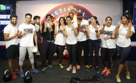 Rakul Preet Singh started Fitness Gym Training ( F45 )