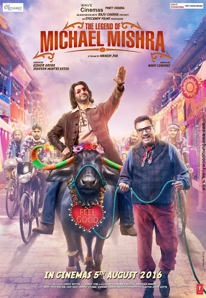 The Legend of Michael Mishra (2016) Movie Poster