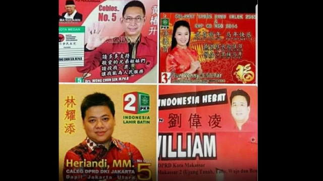 Ustadz Tengku Dilaporkan soal Cuitannya tentang Foto Kampanye Caleg Bertulisan Mandarin