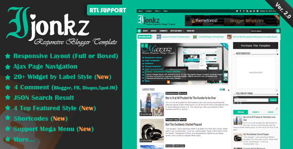 Best blogger templates responsive  seo friendly
