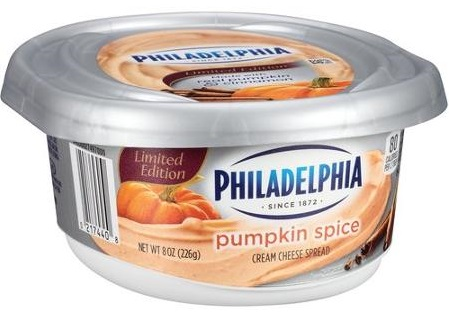 PHILADELPHIA PUMPKIN SPICE CREAM CHEESE SPREAD (AND A RECIPE) | Tag ...