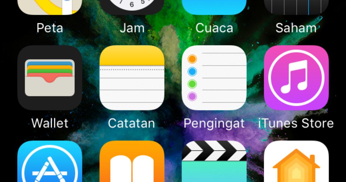 Cara Mengganti Wallpaper Di Iphone