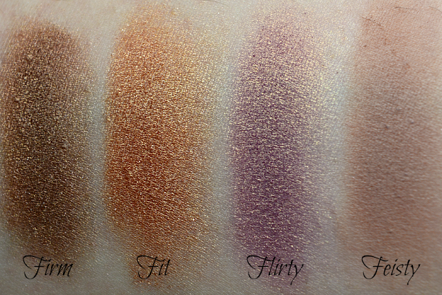 The Balm Nude Dude Volume 2 Lidschattenpalette | Swatches Reihe 2