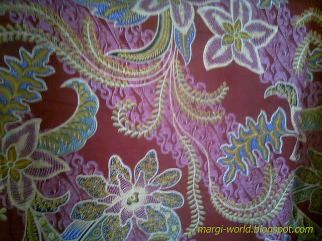 Sebuah Catatan Kehidupan: Contoh salah satu desain batik ...