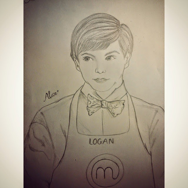 Winner Logan Guleff USA Champion  MasterChef Junior Season 2 Fan Art