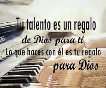 Usa Los Talentos Que Dios Ha Puesto En Tus Manos