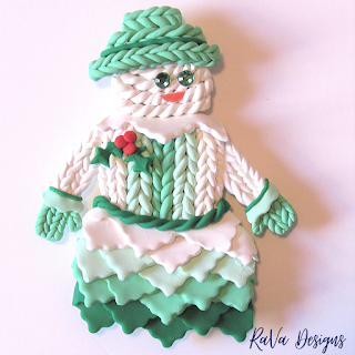 sculpey magnet craft design ideas christmas holiday rava designs
