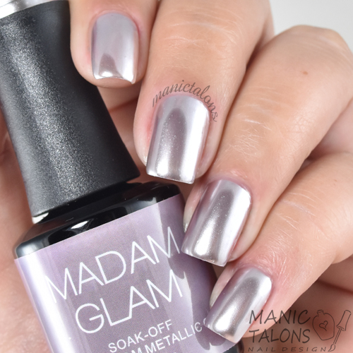 Madam Glam Metallic Gel Say I Do Swatch