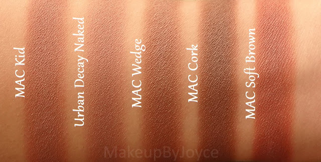 Makeupbyjoyce Swatches Comparison Urban Decay