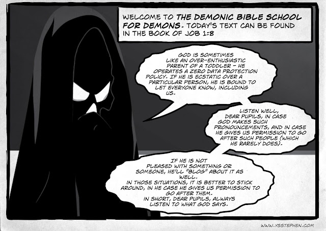 The Demonic Bible School For Demons - Lesson I