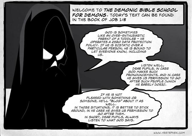 The Demonic Bible School For Demons - Lesson I