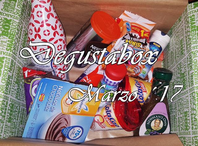 Caja Degustabox - Marzo ´17