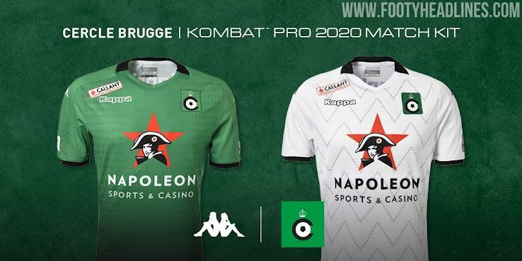 Cercle Brugge 19 20 Home Away Kits Revealed Footy Headlines
