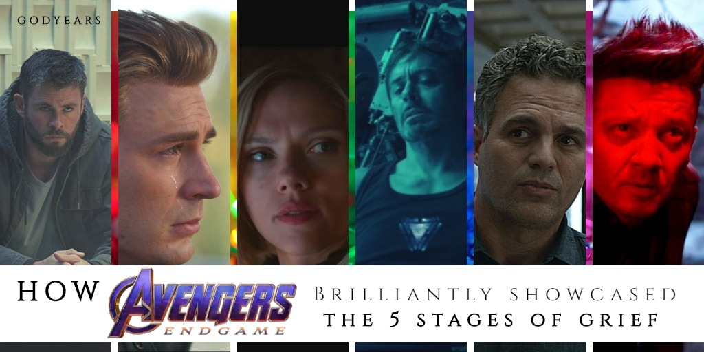 How Avengers Endgame Brilliantly Showcases the 5 Stages of Grief