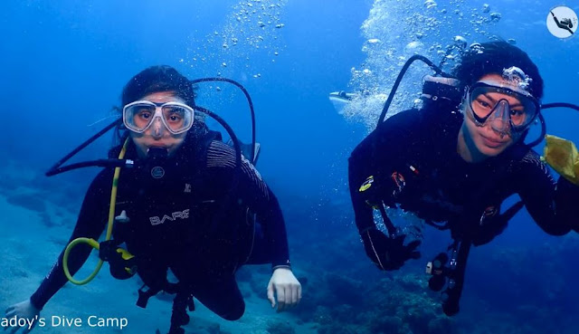 Padoy's Dive Camp Had A Fun And Exciting Dive With Angel Locsin And Ryza Cenon