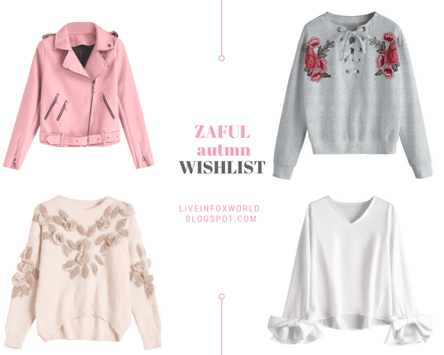 zaful autumn wishlist