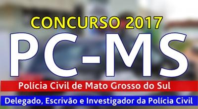 Apostila concurso Polícia Civil MS 2017