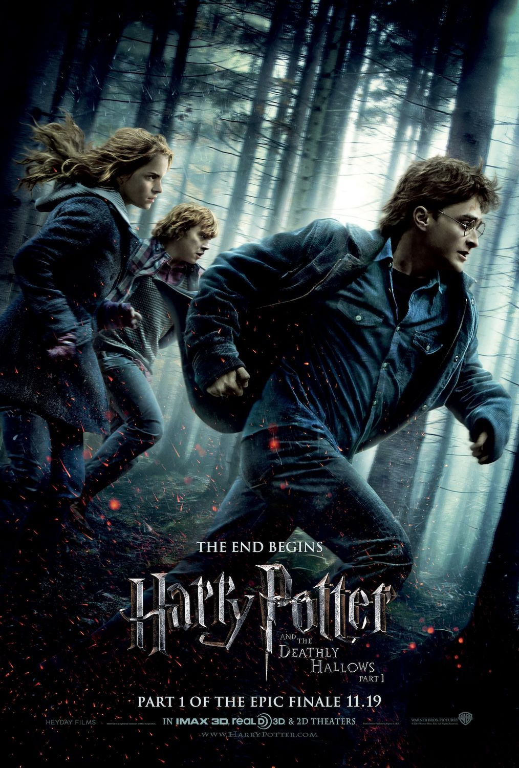 Harry Potter and the Deathly Hallows: Part 1 2010 - Full (HD)