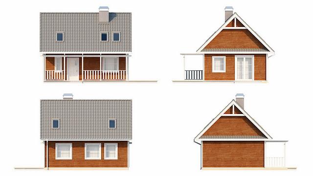 каркасный дом для проживания недорого