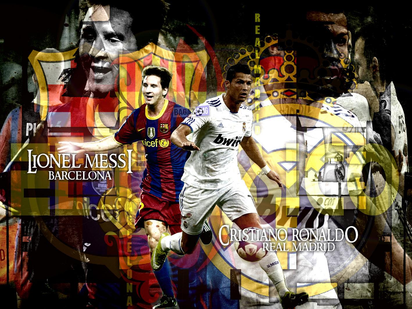 Lionel Messi Vs Cristiano Ronaldo Wallpapers Football News And