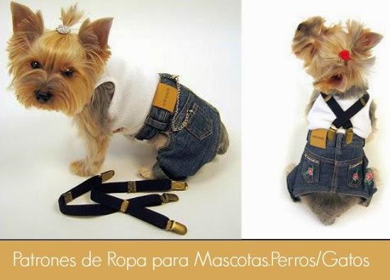 Plantillas y Patrones de Ropa para Mascotas.Perros/Gatos