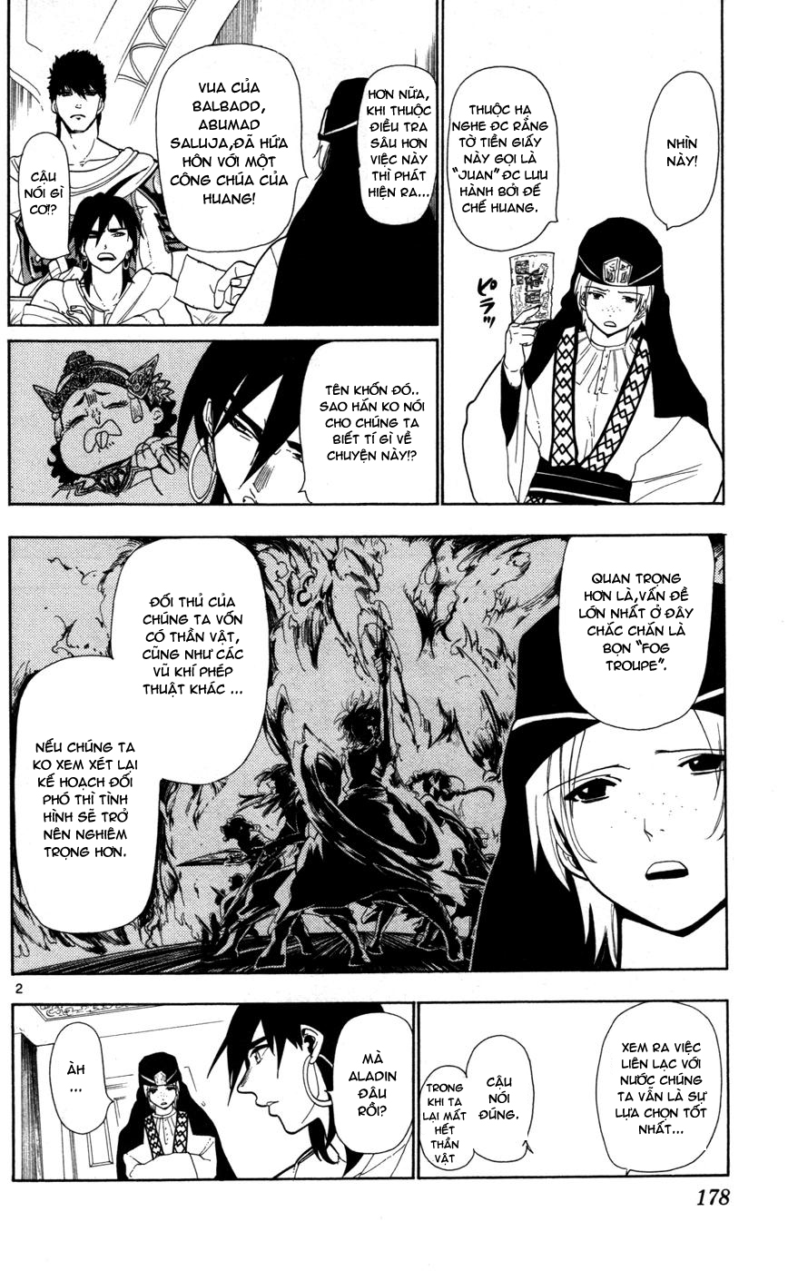 Magi The Labyrinth of magic chapter 37 trang 2