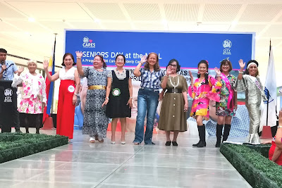 SENIOR FASHIONISTAS WALK AT SM CITY SAN JOSE DEL MONTE'S RUNWAY