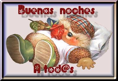 Buenas noches y hasta mañana Imagenes lindas