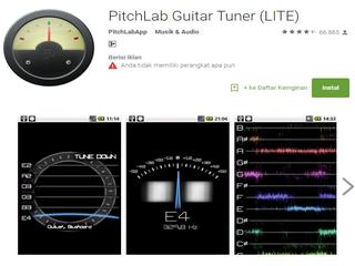 Cara Menyetem Gitar Menggunakan Aplikasi Stem Gitar