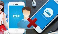 Hướng dẫn cách hủy kết bạn Zalo mới nhất 2017