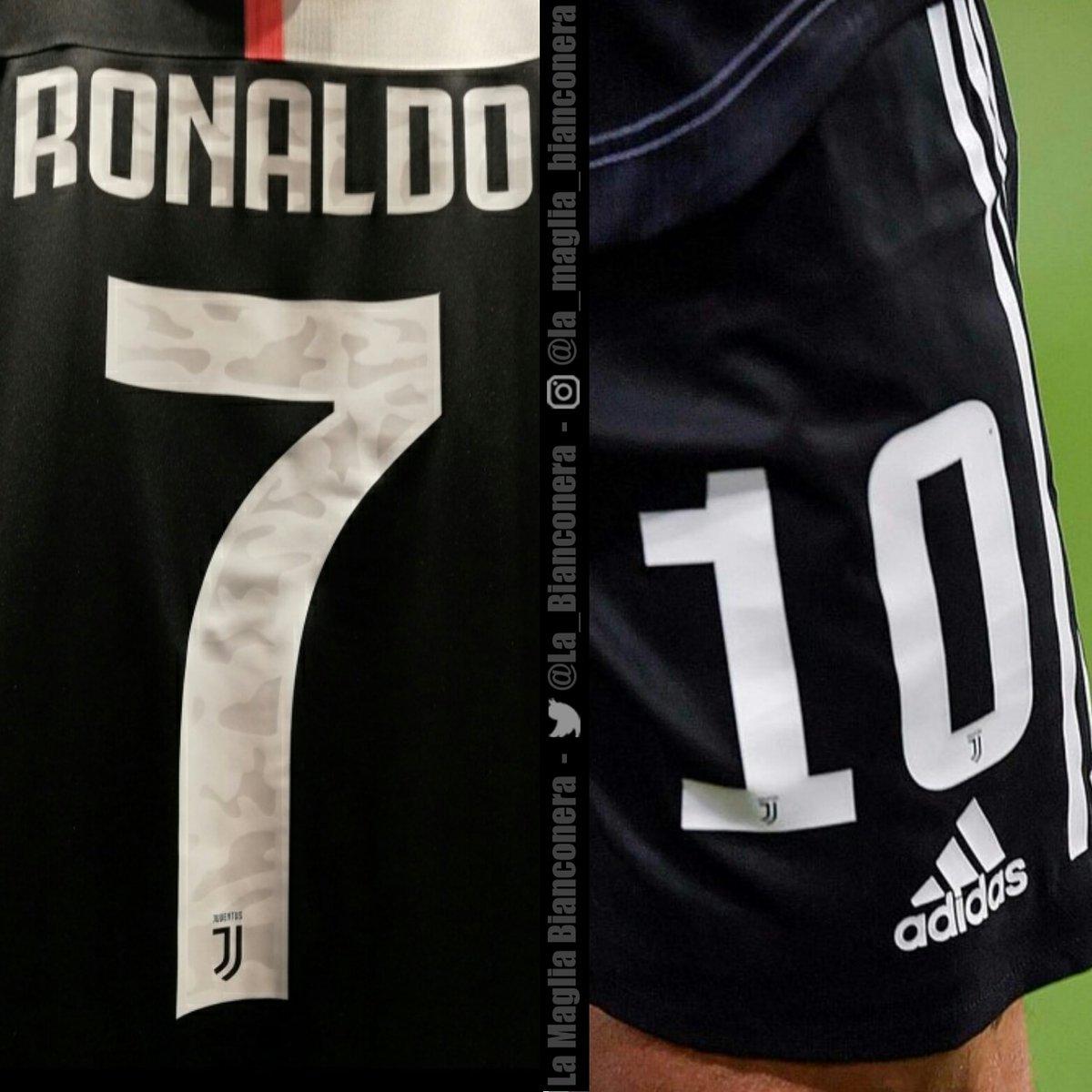 new concept 9c543 155cf Camo Adidas Juventus 19-20 Kit Font Released - Away Kit Leak ...