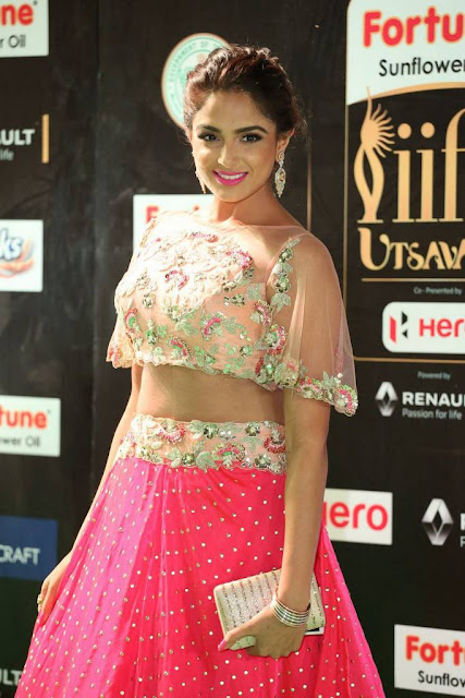 Asmita Sood Stills At IIFA Awards 2017