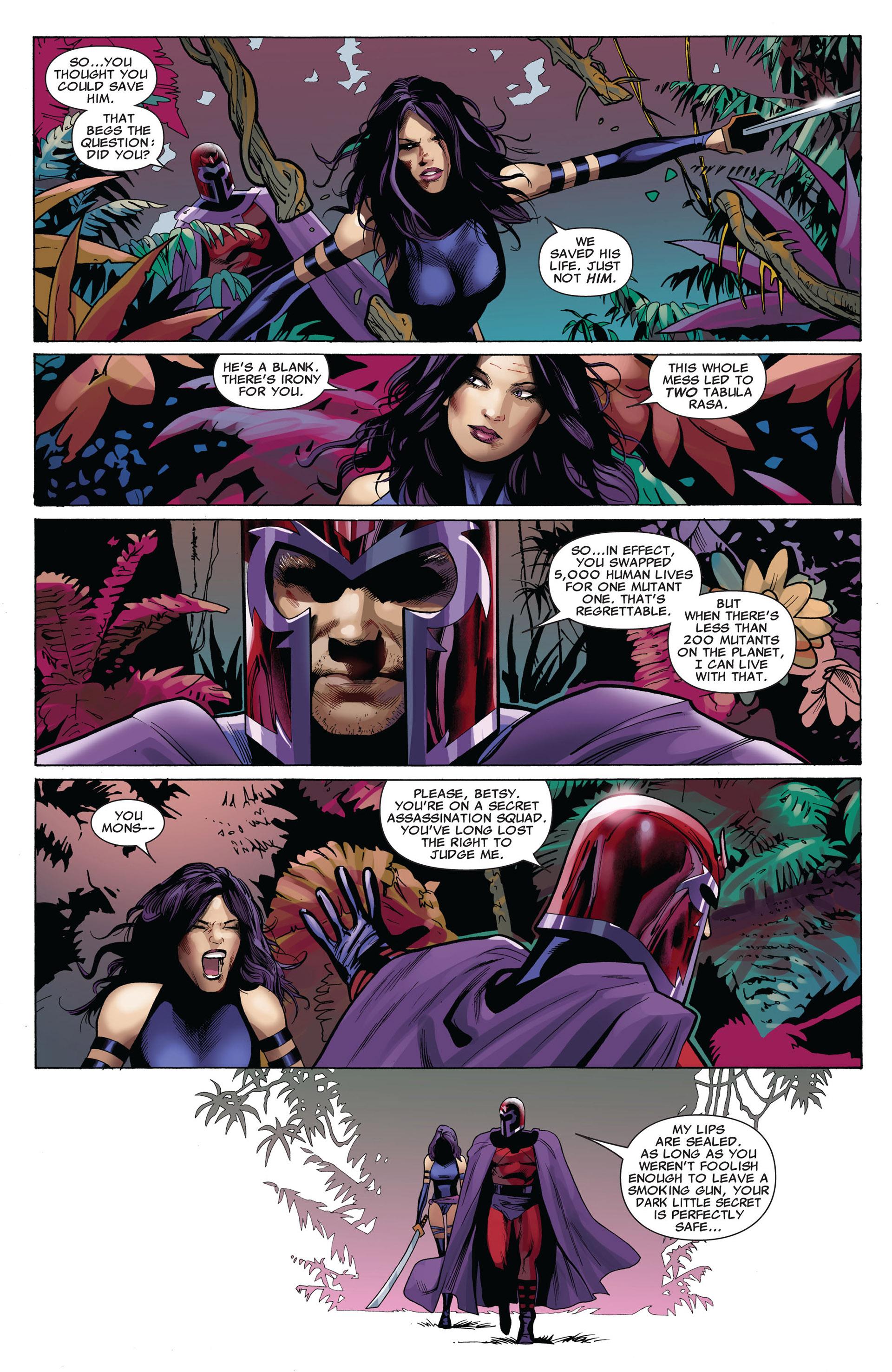 Read online Uncanny X-Men (2012) comic -  Issue #5 - 19