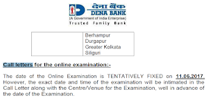 Dena Bank Call letter