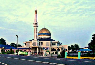 Keindahan Senibina Masjid di Negeri Johor