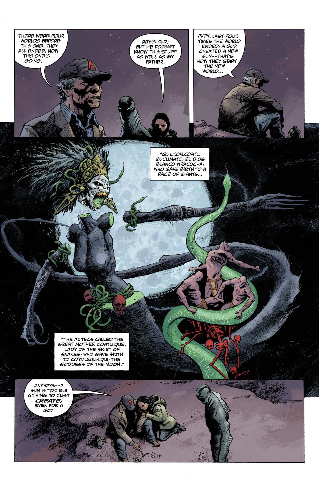 Read online Abe Sapien comic -  Issue #6 - 19