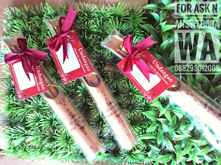 undangan bambu separuh IG