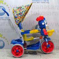 sepeda roda tiga royal baby roy musik dobel
