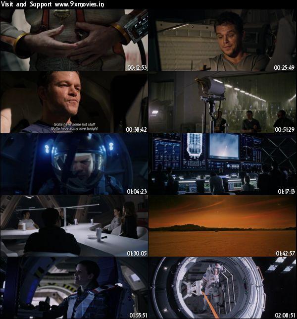 The Martian 2015 English 480p BRRip 400mb ESubs