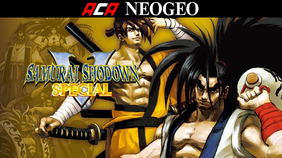 aca neo geo samurai shodown v special nintendo switch ps4 xb1