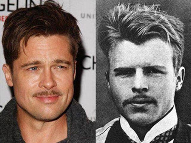 Brad Pitt & Isaac Stevens