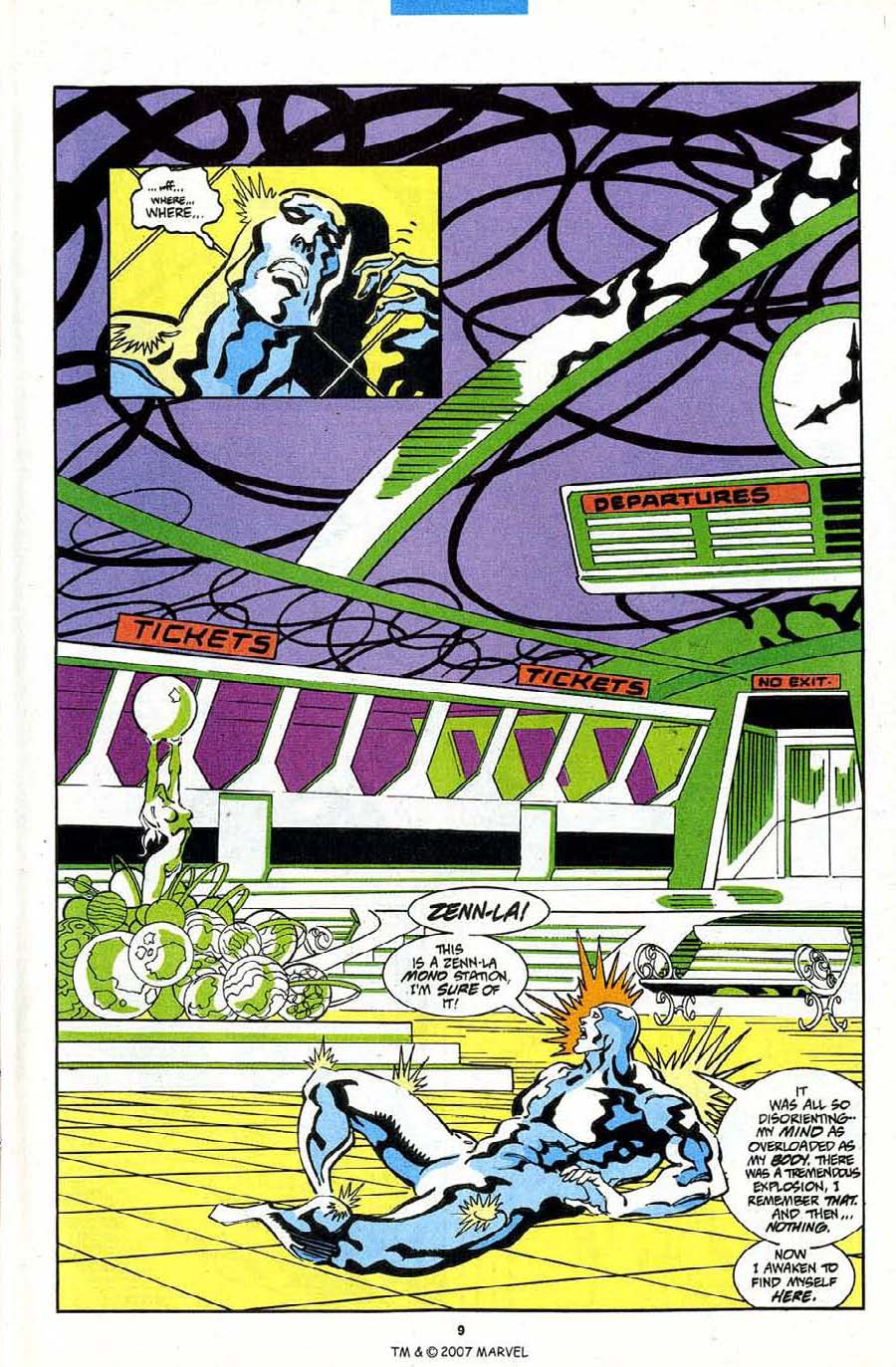 Read online Silver Surfer (1987) comic -  Issue #84 - 11